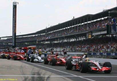 «Индианаполис» ведет переговоры о возвращении гонок Формулы 1