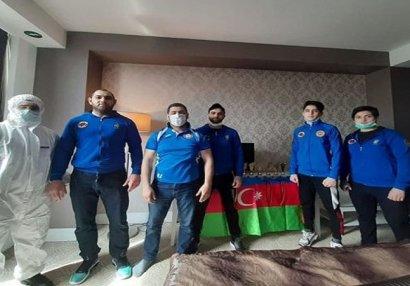 Karantində olan Azərbaycan idmançıları - ARAŞDIRMA/VİDEO