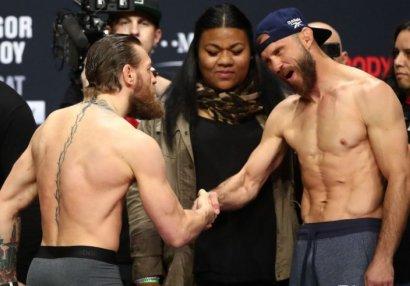 UFC tarixinin ən baxımlı əl və ayaq zərbələri - VİDEO