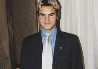 Federer özünü belə məsxərəyə qoydu - FOTO