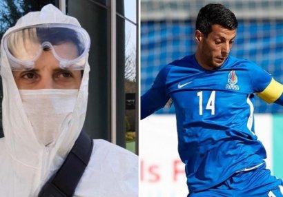Капитан сборной Азербайджана дезинфицирует улицы Баку