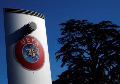 ÜST UEFA-ya 2021-ci ilin sonuna kimi bütün turnirlərin ləğvini tövsiyə edib