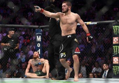 UFC-nin ən yaxşı döyüşçülərini açıqladı: Həbib birincidi