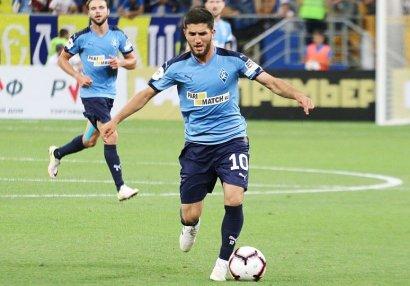 Azərbaycanlı futbolçu Rusiya klubu ilə müqavilə bağladı