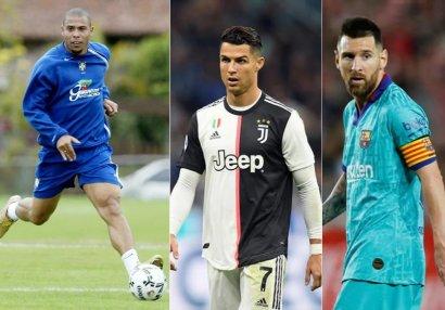 Fenomen Ronaldo bəyəndiyi futbolçuları açıqladı - Siyahıda Kriştianu yoxdu