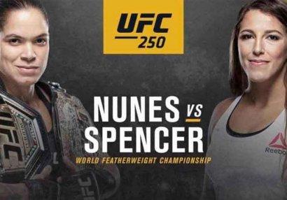 UFC 250-nin tam döyüş kartı açıqlandı