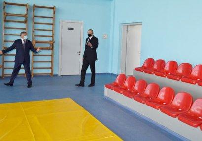 Prezident yeni Olimpiya İdman Kompleksinin açılışını etdi - FOTOLAR