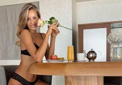 Pellenin model sevgilisi təqibçilərini məst etdi - FOTO
