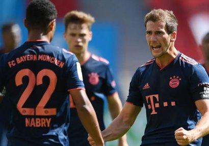 30 тур Бундеслиги: «Бавария» победила «Байер», «Лейпциг» сыграл вничью с «Падерборном»