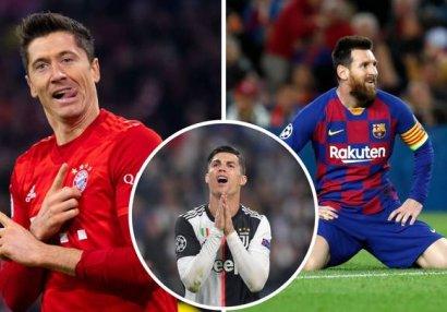 Levandovski Messi və Ronaldunu qabaqladı -
