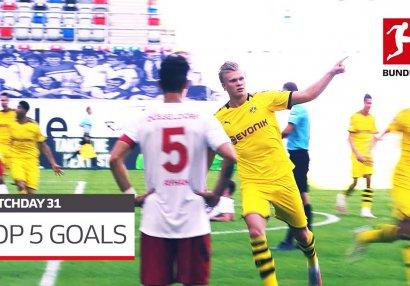 Bundesliqa: 31-ci turun ən yaxşı 5 qolu - VİDEO