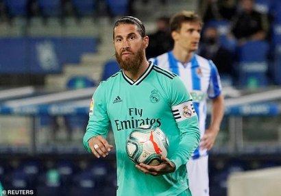 Ramos şəxsi rekordunu təkrarladı