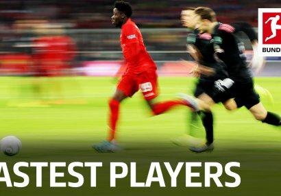 Bundesliqa tarixinin ən sürətli 10 futbolçusu - VİDEO