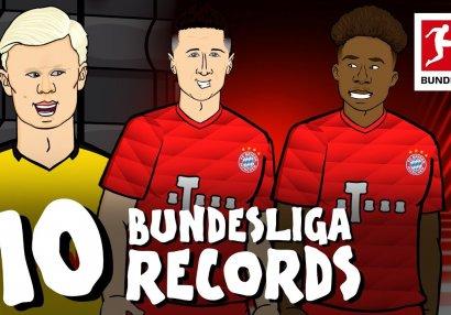 Bundesliqada mövsümün rekordları - VİDEO