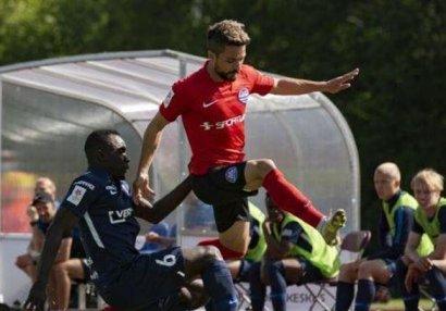 Azərbaycanlı futbolçu Estoniyada kubok qazana bilmədi