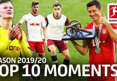 Bundesliqada mövsümün ən yaxşı 10 anı - VİDEO