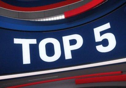 NBA-da gecənin ən yaxşı 5 hərəkəti - VİDEO