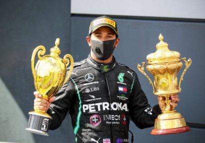 Formula 1: Hemilton Britaniya Qran-prisinin qalibi oldu