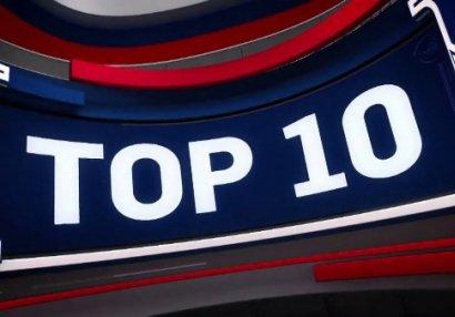 NBA-da gecənin ən yaxşı 10 hərəkəti - VİDEO