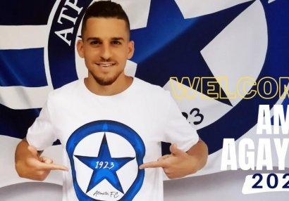 Əmir Ağayev Yunanıstan klubunda - RƏSMİ