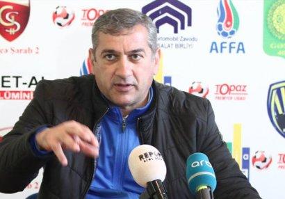 Yunis Hüseynov Bakı təmsilçisinin baş məşqçisi oldu