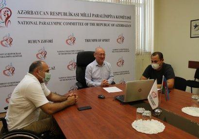 MPK prezidenti BGMİA rəsmisi ilə görüşdü