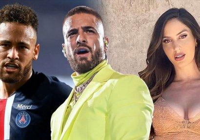 Neymar sevgilisini əlindən aldığı reperə söz atdı, ara qarışdı - FOTOLAR