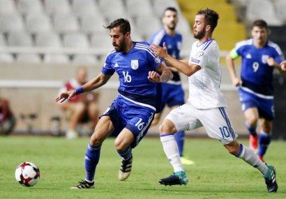 Kipr millisinin Azərbaycanla oyun üçün heyəti