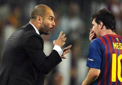 Гвардиола посоветовал Месси остаться в «Барселоне»