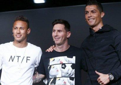 Ən varlı məşhurlar kimdi? - Ronaldo, Messi, Neymar...