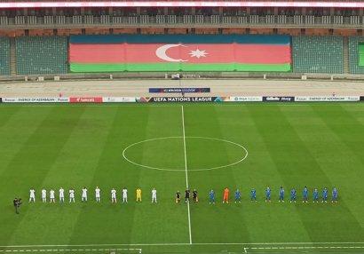 Азербайджан уступил Люксембургу в Лиге наций