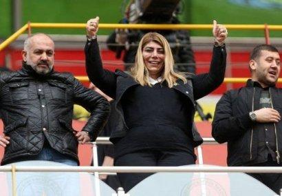 """Qadın prezident: """"İstərdik ki, Azərbaycandan futbolçular bizdə oynasın"""""""