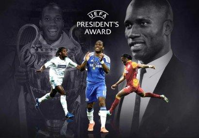 Droqba UEFA prezidenti mükafatına layiq görüldü