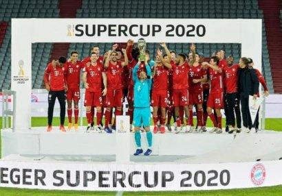 Almaniya Super Kubokunun sahibi bəlli oldu - VİDEO