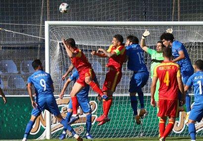 Азербайджан проиграл в Черногории