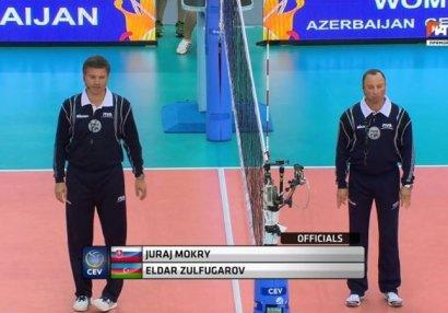 Азербайджанский арбитр назначен на матч Лиги чемпионов