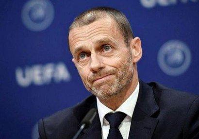 UEFA prezidenti Dağlıq Qarabağ münaqişəsindən danışdı