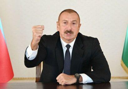 Prezident İlham Əliyev xalqa müraciət etdi - VİDEO