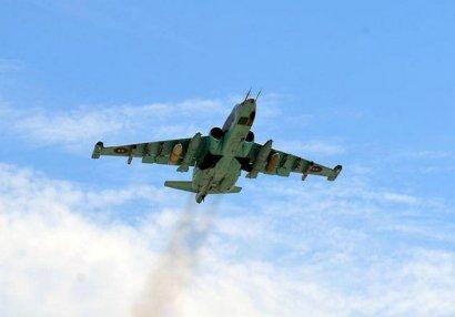 Ermənistanın daha bir Su-25 təyyarəsi vuruldu