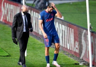 Madrid klubunun forvardı sıradan çıxdı