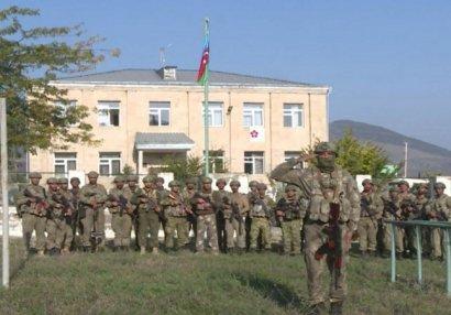 В освобожденном городе Зангилан развевается флаг Азербайджана (ВИДЕО)