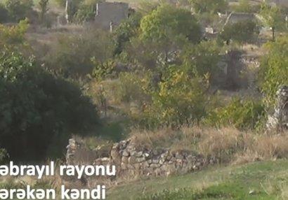 İşğaldan azad olunan daha bir kəndin görüntüləri - VİDEO