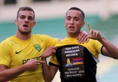 AFFA-nın müraciətindən sonra erməni futbolçuya xəbərdarlıq edildi