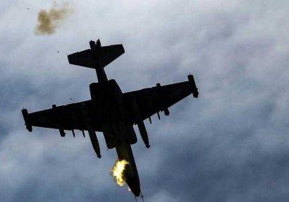 Ermənistanın Su-25 döyüş təyyarəsi məhv edildi