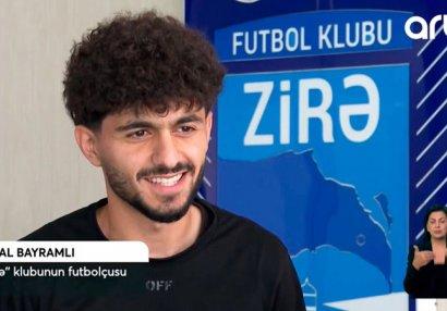Kəndləri işğaldan azad olunan futbolçumuzun sevinc hissləri - VİDEO