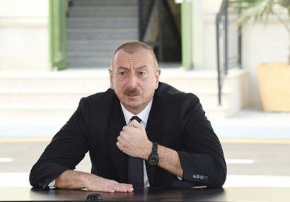 Prezident açıqladı: Bu kəndlər də azad edildi