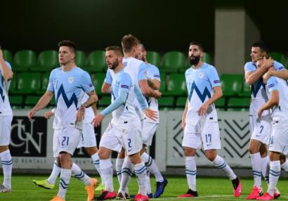 Sloveniyalı futbolçular Azərbaycanla oyundan danışdılar