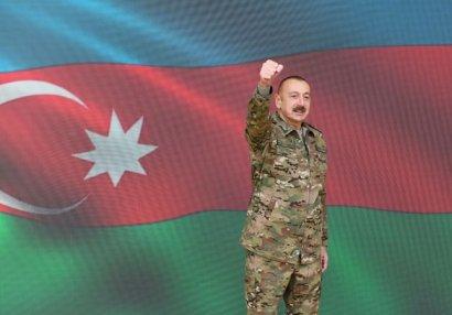 Azərbaycan idmançıları Ali Baş Komandana təşəkkür etdi