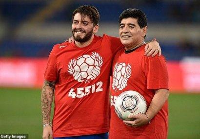 Maradonanın oğlu reanimasiyaya yerləşdirildi