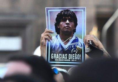 Maradona dəfn edildi - FOTOLAR